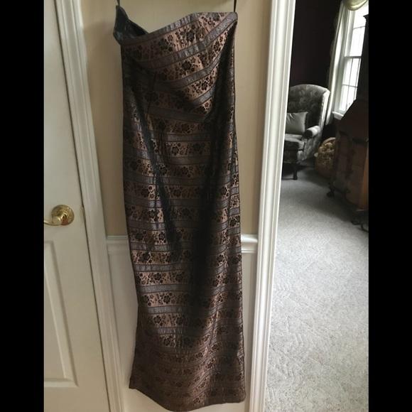 Jessica McClintock Dresses & Skirts - Jessica McClintock Strapless Gown